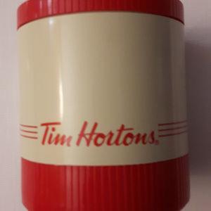 Vintage Tim Horton's Thermos